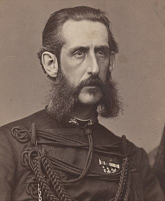 Prince August, Duke of Dalarna - Image: August of Sweden & Norway c 1870