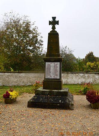 Aurouër - Aurouër War Memorial