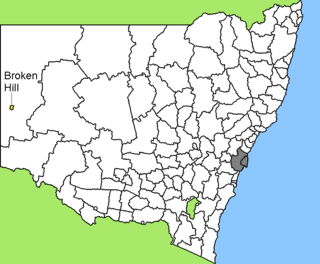 City of Broken Hill Local government area in New South Wales, Australia