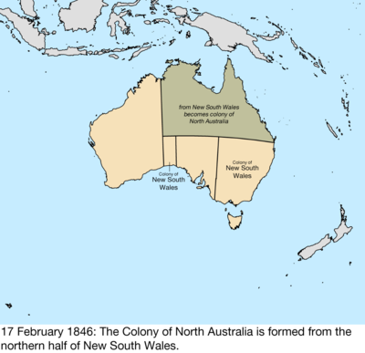 Map Of Australia 26th Parallel.Territorial Evolution Of Australia Wikiwand