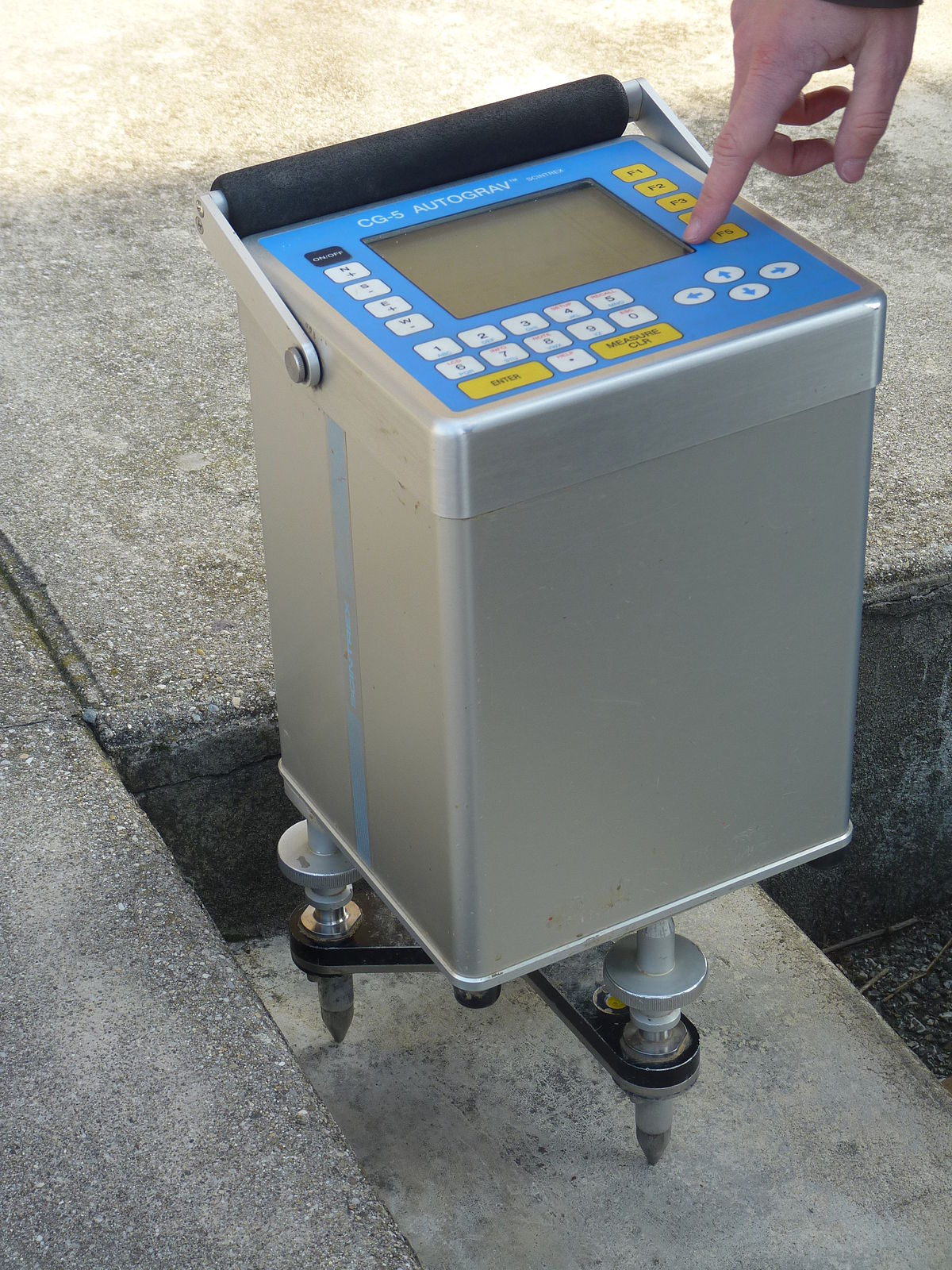 Gravimeter Wikipedia Example Of A Typical Lcr Meter As Used In Laboratories And Production