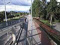 Autopista norte, Bogotá, estación TransMilenio, Mazurén.JPG