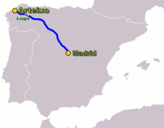 Autovía A-6 - Image: Autoviaesp a 6