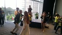 Avner and Darya's wiki Wedding at Wikimania by ovedc 42.jpg