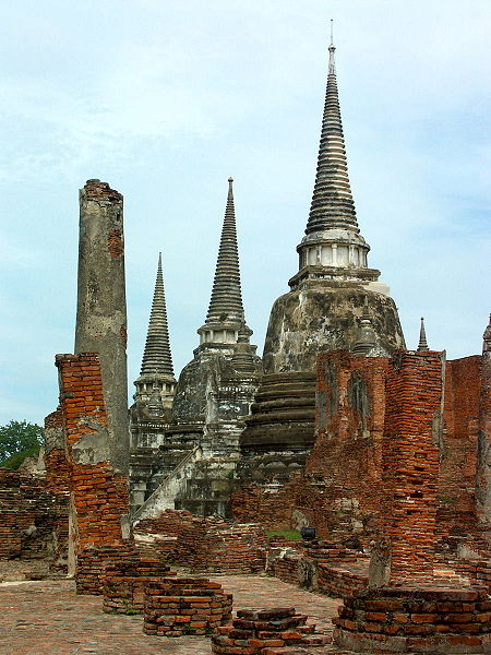 Wonderful Places in Asia: Wat Phra Sri Sanphet - Ayutthaya