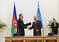 Azerbaijan-Uzbekistan documents signed, 2010 03.jpg