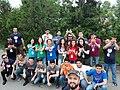Azerbaijani Wikipedians in 2018 Spring WikiCamp 03.jpg