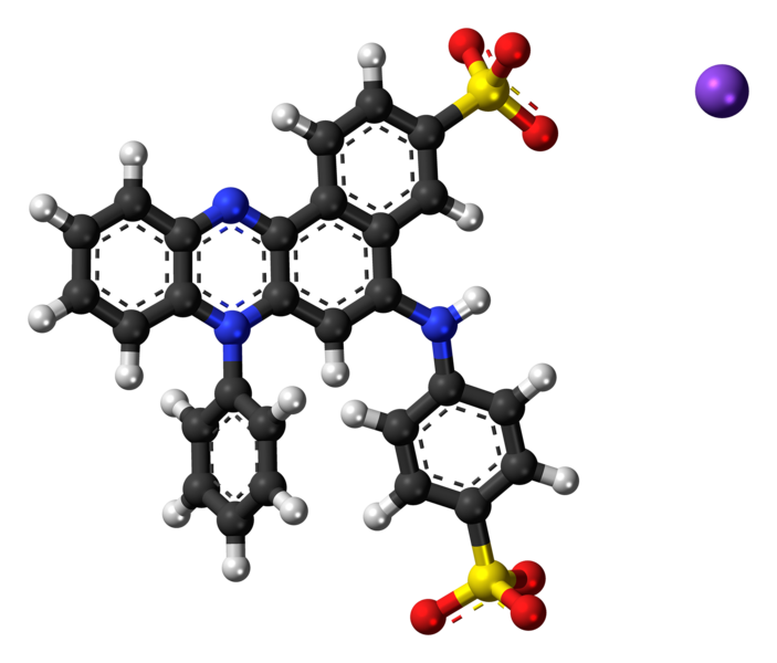 File:Azocarmine G ions ball.png