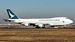 B-LIB Cathay Pacific Cargo B744 FRA (33278382038).jpg