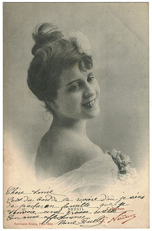 Marguerite Brésil - Photo of Marguerite Brésil by Nadar.