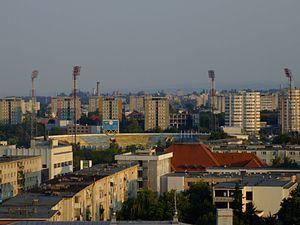 Stadionul Municipal (Bacău) - Image: Bacau Stadium