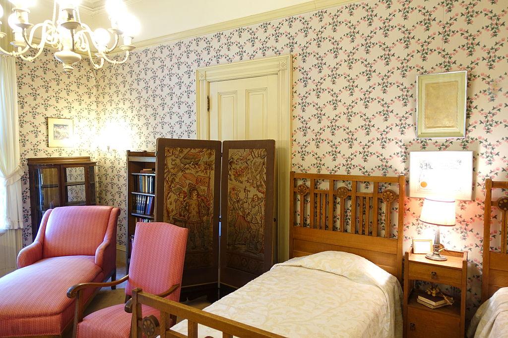 File Back Bedroom Haas Lilienthal House San Francisco Ca Dsc05084 Jpg Wikimedia Commons