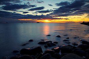Guimaras Strait - Guimaras Strait at Bacolod