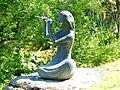 Bad Sassendorf – Bronze-Skulpturen – Flötensolo im Kurpark - panoramio.jpg