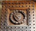 Badia di passignano, porta quattrocentesca, 01.jpg