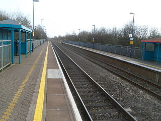 Baglan railway station Railway station in Neath Port Talbot, Wales