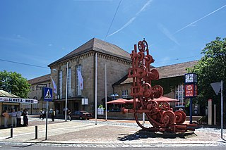 railway station in Stuttgart, Germany