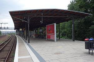 Berlin-Rummelsburg railway station - Platform
