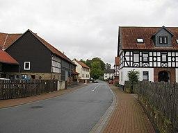 Bahnhofstraße in Burgwald