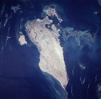 Bahrain Island - Image: Bahrain, astronaut photograph