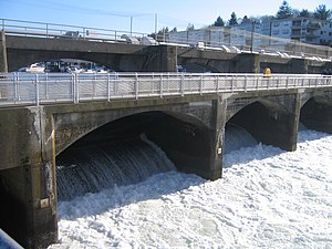 Ballard Locks - Spillway
