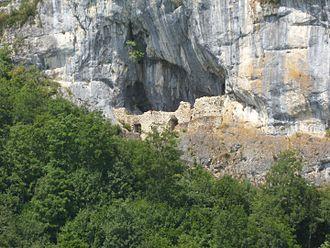 Balm ruins - Balm Castle ruins