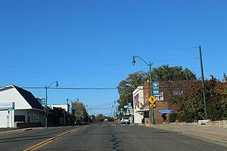 Balsam Lake, Wisconsin - Downtown Balsam Lake