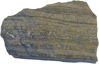 Ore rock with valuable metals, minerals and elements