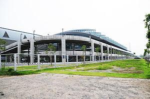 Makkasan Station - Image: Bangkok City Air Terminal Exterior