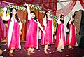 Bangladeshi girls dancing in wedding ceremony at Chittagong (01).jpg