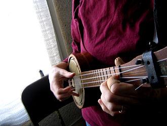 Banjo uke - Image: Banjo ukulele (77710352)
