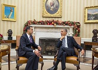 Richard Verma - Barack Obama with Richard Verma