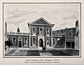 Barber-Surgeons' Hall, Monkwell Street, London; the facade. Wellcome V0013084.jpg