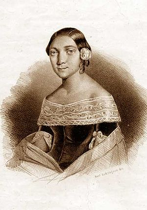 I due Foscari - Soprano Marianna Barbieri-Nini, the first Lucrezia