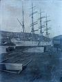 Barque 'Viking' in unknown British (?) harbour (5063732214).jpg