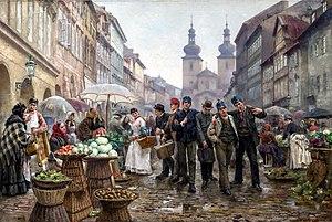 Old Town (Prague) - Gallus Market (Havelské tržiště)