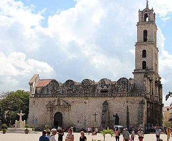 Basilica Menor de San Francisco de Asis in Havana 2016.jpg