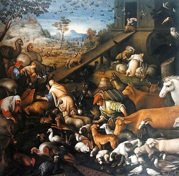 File:Bassano Animals entering Noah's Ark.jpg