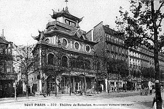 Bataclan (theatre) - Image: Bataclan