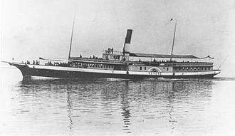 Paddle steamer Genève - Image: Bateau Genève 1896