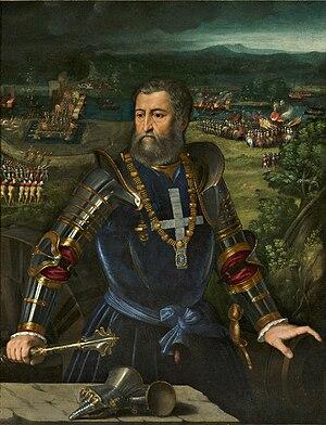 Alfonso I d'Este, Duke of Ferrara - Alfonso d'Este, by Dosso Dossi