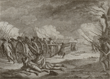 19th century depiction of the Battle of Lexington