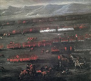 8th (The King's) Regiment of Foot - Battle of Sheriffmuir