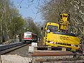 Baustelle Bahnhof Gießen Licher Straße mit Zug.jpg