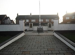 Shore Road, Belfast - Republican memorial garden, Bawnmore