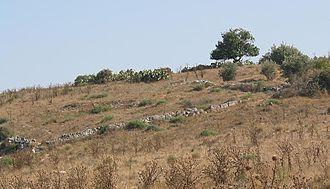 Bayt Jibrin - The ruins of Bayt Jibrin, 2005