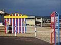 Beach snack bar on the beach, Weymouth (geograph 1850323).jpg