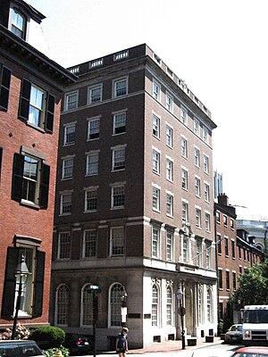 Beacon Press - Beacon Press building, Beacon Hill, Boston, 2010