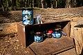 BearVault Canisters in and on Metal Storage Locker.jpg