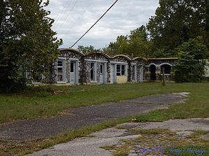 National Register of Historic Places listings in Boone County, Arkansas - Image: Bear Creek Motel